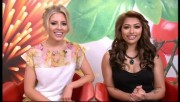 Mollie King and Vanessa White - Let's do lunch with Gino and Mel 3rd July 2013 576p