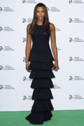 Naomi Campbell - Novak Djokovic Foundation Gala Dinner in London 7/8/13