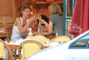 Charisma Carpenter - Chez Clement in Paris July 6, 2013