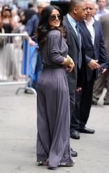 Salma Hayek - at GMA in NYC 7/11/13
