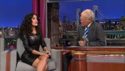 Salma Hayek @ Late Show w/David Letterman 7/10/13