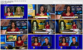 RICHELLE CAREY cleavage - hln - January 4, 2011