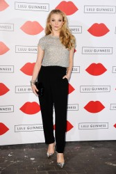 Natalie Dormer - Lulu Guinness Paint Project in London 7/11/13