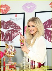Ashlee Simpson - Elizabeth Arden Beautiful Color Lip Lounge Event in Hollywood 7/12/13