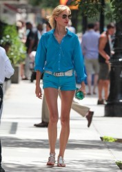 Karolina Kurkova - out in NYC 7/14/13