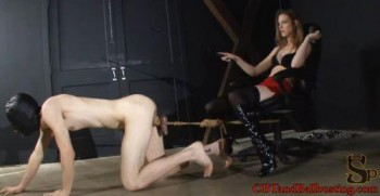 spank lesbian ass