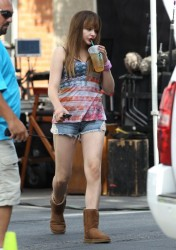 Chloe Grace Moretz - on the set of 'The Equalizer' in Massachusetts 7/15/13