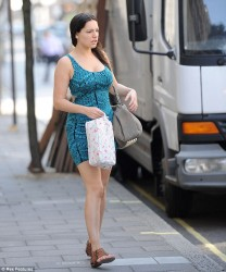 Kelly Brook - out in London 7/18/13