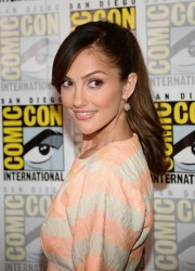 Minka Kelly - 'Almost Human' Press Room at San Diego Comic-Con 7/19/13