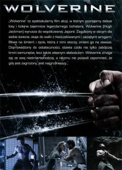Tył ulotki filmu 'Wolverine'