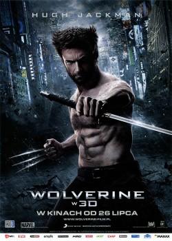 Przód ulotki filmu 'Wolverine'