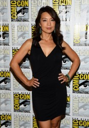 Ming-Na Wen - 'Marvel's Agents of S.H.I.E.L.D.' Press Line at Comic-Con in San Diego 7/19/13