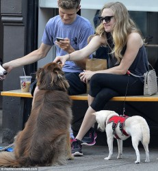 Amanda Seyfried - out in NYC 7/19/13