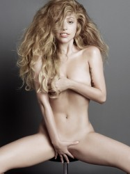 Lady Gaga Nude V Magazine Photoshoot