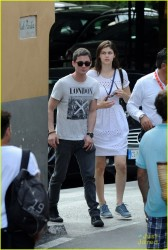 Alexandra Daddario out in Amalfi, Italy - July 20, 2013