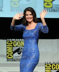 Cobie Smulders - Marvel's 'Captain America: The Winter Soldier' at Comic-Con in San Diego 7/20/13