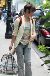 Evangeline Lilly - out in NYC 7/23/13