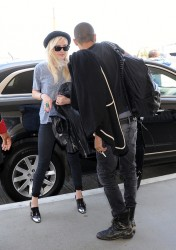 Ashlee Simpson - Arriving to LAX Airport 7/29/13
