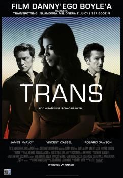 Polski plakat filmu 'Trans'