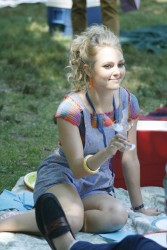 AnnaSophia Robb - on the set of 'The Carrie Diaries' in NYC 7/30/13