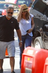 Jennifer Aniston - on the set of 'Squirrels to the Nuts' in NYC 7/31/13