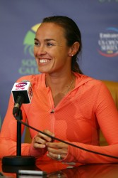 Martina Hingis - Southern California Open Day 3 in Carlsbad 7/31/13