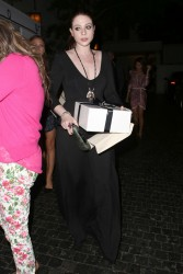 Michelle Trachtenberg - leaves the Chateau Marmont in Hollywood 7/31/13