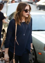 Chloe Moretz - out in Boston 8/3/13