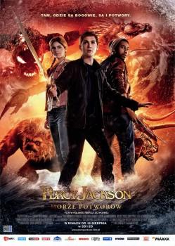 Przód ulotki filmu 'Percy Jackson: Morze Potworów'