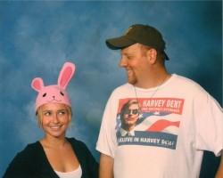 Hayden Panettiere Looking Cute With a Fan