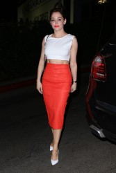Rose McGowan - at the Chateau Marmont in Hollywood 8/5/13