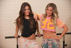 Vanessa Hudgens and Ashley Tisdale - Inner Circle Photoshoot