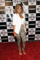 Adrienne Bailon - G-Shock Shock The World 2013 in NYC 8/7/13