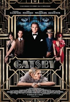 Polski plakat filmu 'Wielki Gatsby'