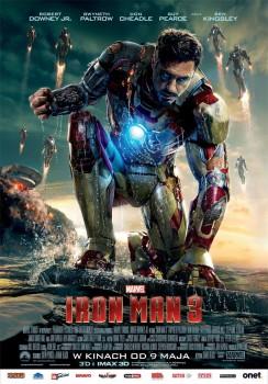Polski plakat filmu 'Iron Man 3'