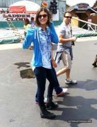 Victoria Justice At Darien Lake Amusement Park 7/28/13
