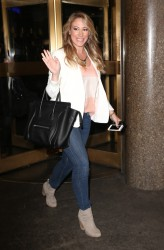 Haylie Duff - Leaving NBC Studios in NYC 8/9/13