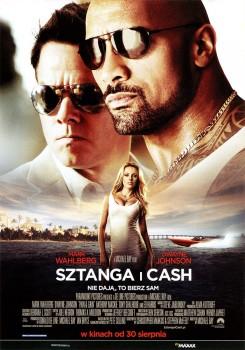 Przód ulotki filmu 'Sztanga i Cash'