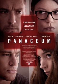Polski plakat filmu 'Panaceum'