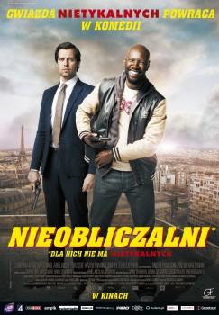 Polski plakat filmu 'Nieobliczalni'