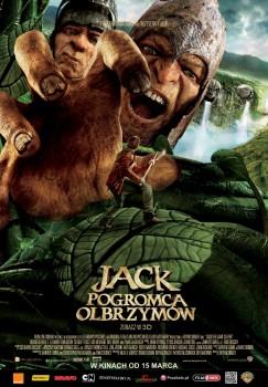 Polski plakat filmu 'Jack Pogromca Olbrzymów'