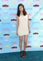 Alexandra Daddario - 2013 Teen Choice Awards 8/11/13