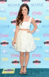 Lucy Hale - 2013 Teen Choice Awards 8/11/13