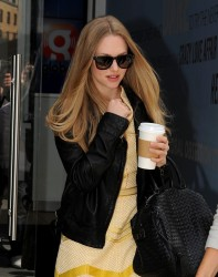 Amanda Seyfried - leaving Capital Radio in London 8/13/13