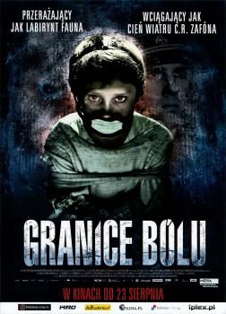 Przód ulotki filmu 'Granice Bólu'
