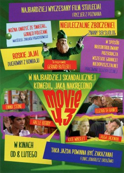 Tył ulotki filmu 'Movie 43'