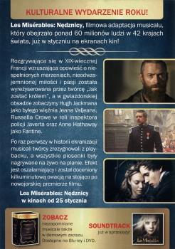 Tył ulotki filmu 'Les Misérables. Nędznicy'