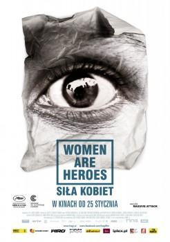 Polski plakat filmu 'Siła Kobiet'