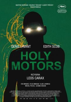 Polski plakat filmu 'Holy Motors'