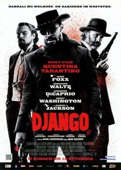 Przód ulotki filmu 'Django'